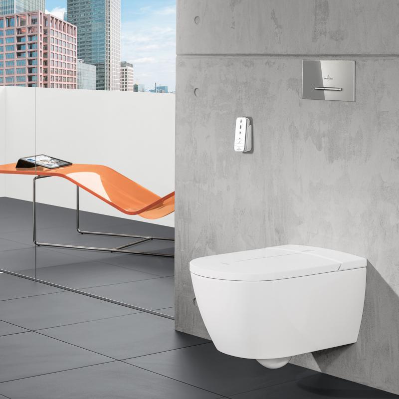 Villeroy & Boch ViClean I100 Dusch-WC, offener Spülrand ...