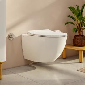 VitrA Aquacare Sento Wand-Tiefspül-WC-Set mit Bidetfunktion, mit WC-Sitz