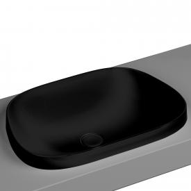 VitrA Frame Einbauschale asymmetrisch schwarz