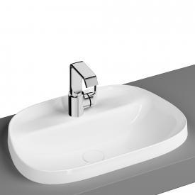 VitrA Frame Einbauwaschtisch asymmetrisch weiß
