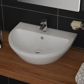 VitrA Integra Handwaschbecken weiß, mit VitrAclean, mit 1 Hahnloch, mit Überlauf