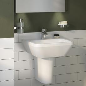 VitrA Integra Handwaschbecken weiß, mit 1 Hahnloch, ohne Überlauf