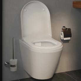 VitrA Integra Wand-Tiefspül-WC VitrAflush 2.0 mit Bidetfunktion weiß