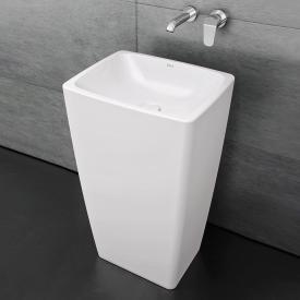 VitrA Metropole Monoblock Waschtisch weiß, mit VitrAclean