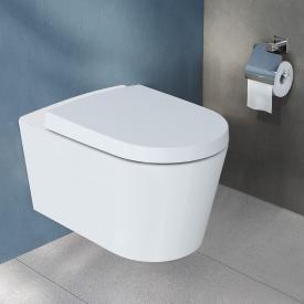 VitrA Options Nest Wand-Tiefspül-WC mit Bidetfunktion mit Spülrand, weiß