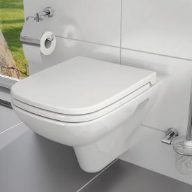 VitrA S20 Wand-Tiefspül-WC mit Bidetfunktion weiß, mit VitrAclean