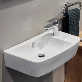VitrA Shift Waschtisch Compact asymmetrisch weiß, mit VitrAclean, ungeschliffen