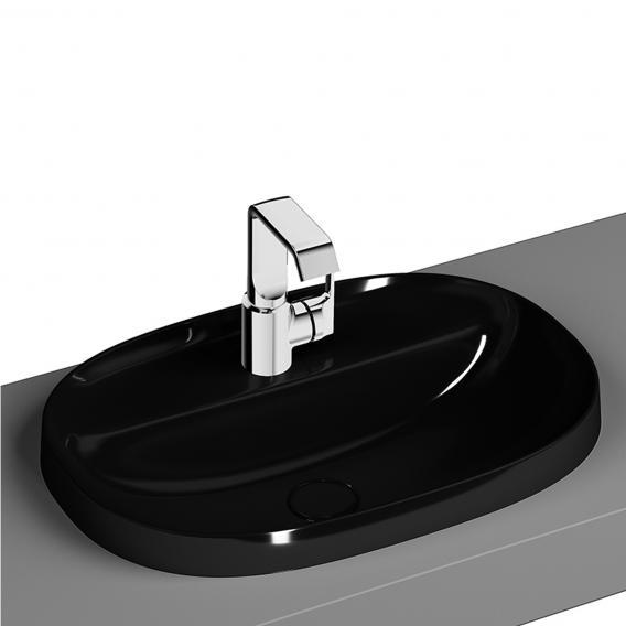 VitrA Frame Einbauwaschtisch schwarz