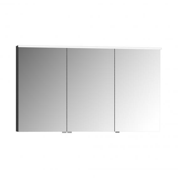 VitrA Integra/Sento Premium Spiegelschrank mit LED-Beleuchtung anthrazit hochglanz