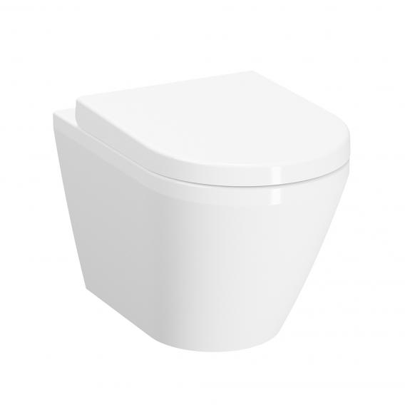VitrA Integra Wand-Tiefspül-WC mit Bidetfunktion ohne Spülrand, weiß