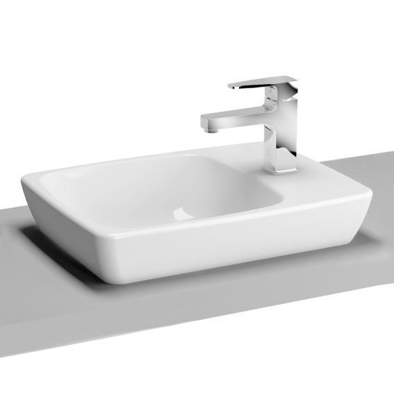 VitrA Metropole Aufsatzwaschtisch Compact weiß ohne VitrAclean, ohne Überlauf