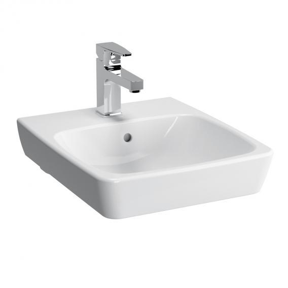 VitrA Metropole Handwaschbecken weiß mit VitrAclean, geschliffen, mit Überlauf