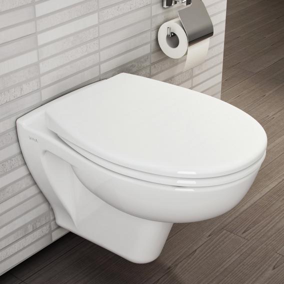 VitrA S20 Wand-Tiefspül-WC VitrAflush 2.0 mit Bidetfunktion weiß