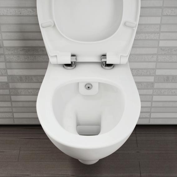 VitrA S20 Wand-Tiefspül-WC VitrAflush 2.0 mit Bidetfunktion weiß, mit VitrAclean