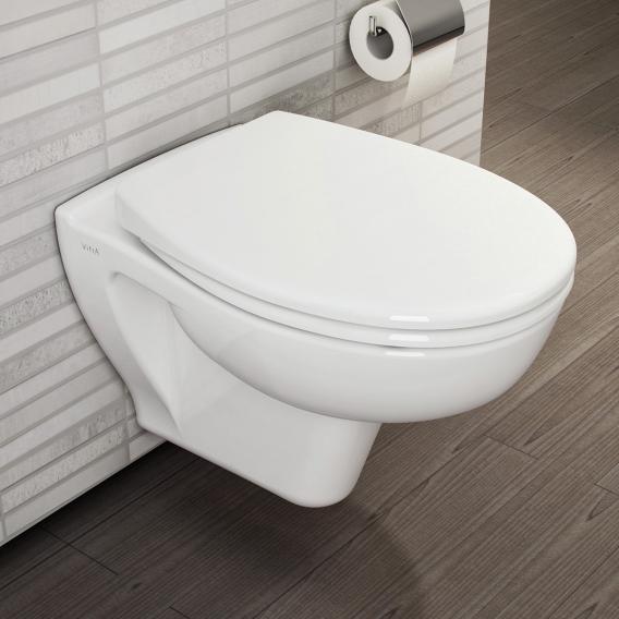 VitrA S20 Wand-Tiefspül-WC VitrAflush weiß, mit VitrAclean