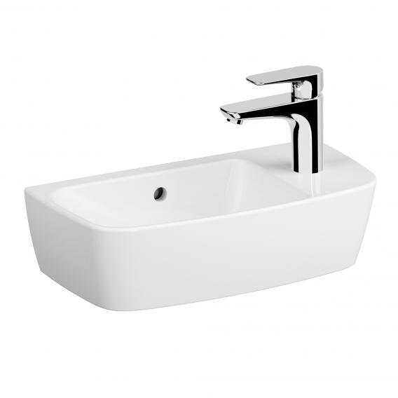 VitrA Shift Handwaschbecken asymmetrisch weiß, mit VitrAclean, geschliffen