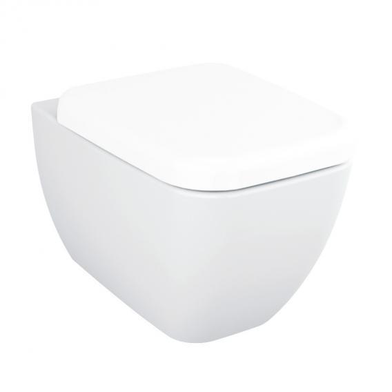 VitrA Shift Wand-Tiefspül-WC mit Spülrand, weiß, mit VitrAclean
