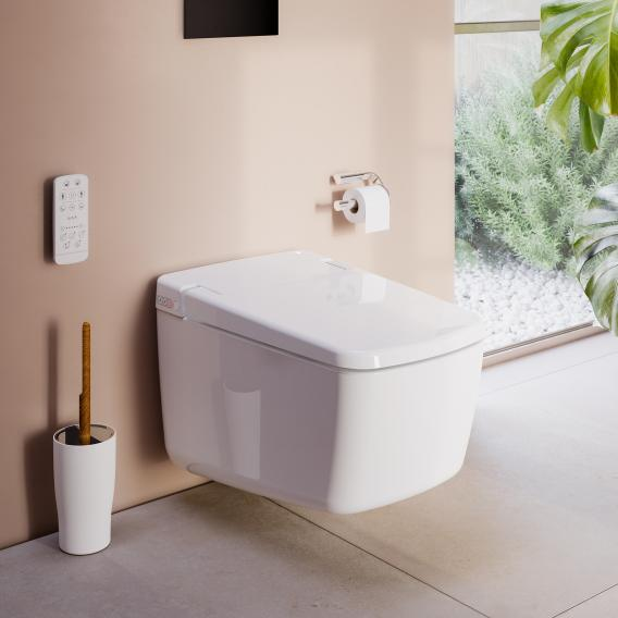 VitrA V-Care Prime Wand-Dusch-WC, mit WC-Sitz