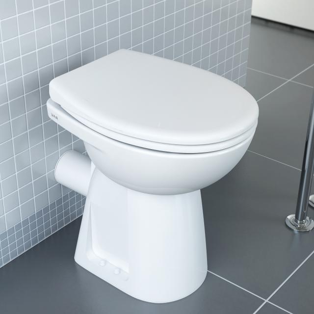 VitrA Conforma Stand-Tiefspül-WC weiß, mit VitrAclean