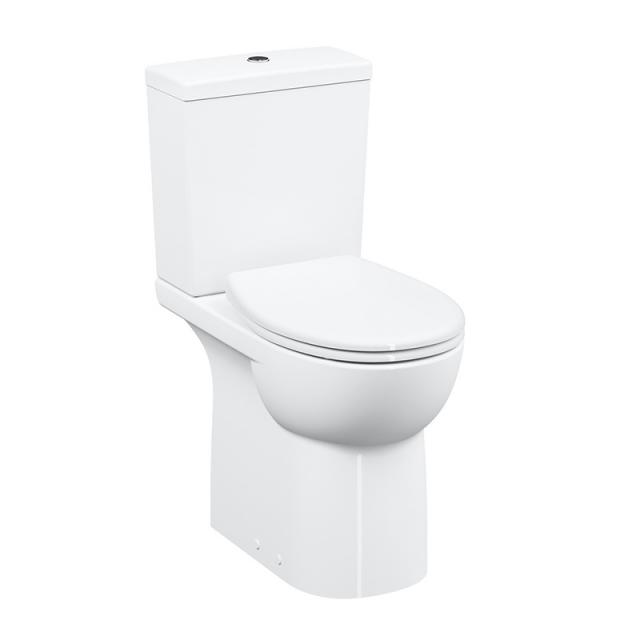 VitrA Conforma Stand-Tiefspül-WC VitrAflush 2.0 barrierefrei weiß, mit VitrAclean