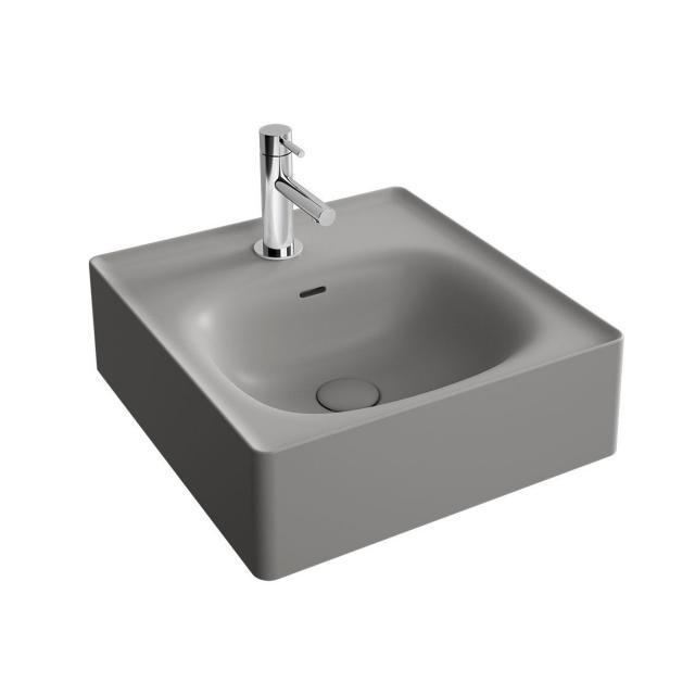 VitrA Equal Handwaschbecken steingrau matt, geschliffen