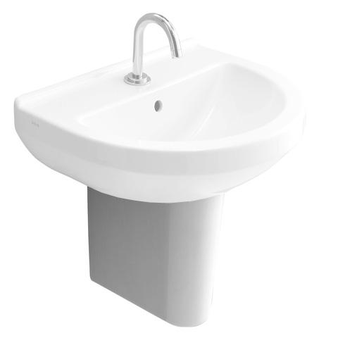 VitrA Integra Halbsäule für Waschtisch weiß