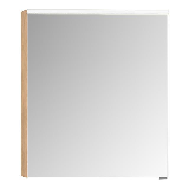 VitrA Integra/Sento Premium Spiegelschrank mit LED-Beleuchtung eiche