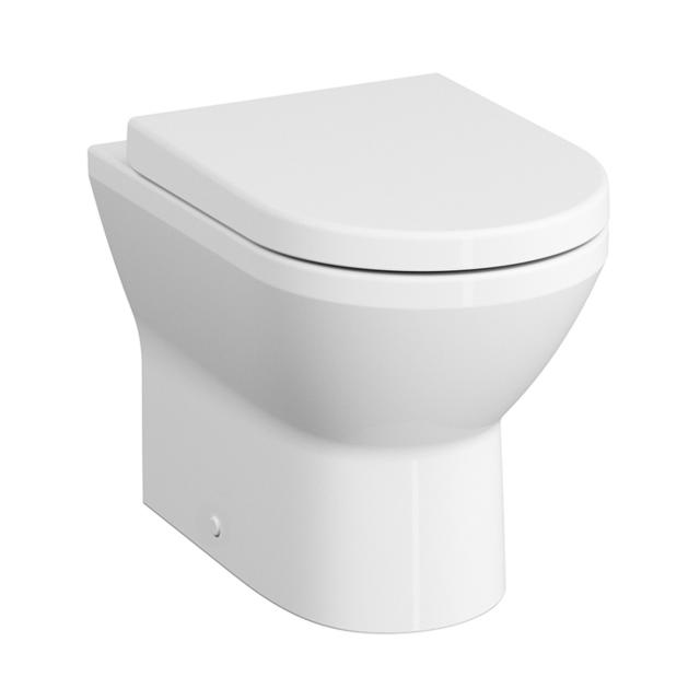 VitrA Integra Stand-Tiefspül-WC VitrAflush 2.0 mit Bidetfunktion weiß