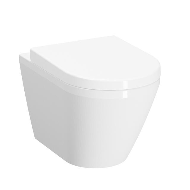VitrA Integra Wand-Tiefspül-WC mit Spülrand, weiß