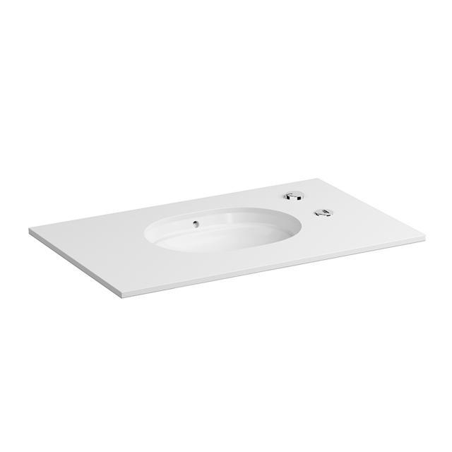 VitrA Metropole AutoClean-Waschtisch weiß, mit Überlauf