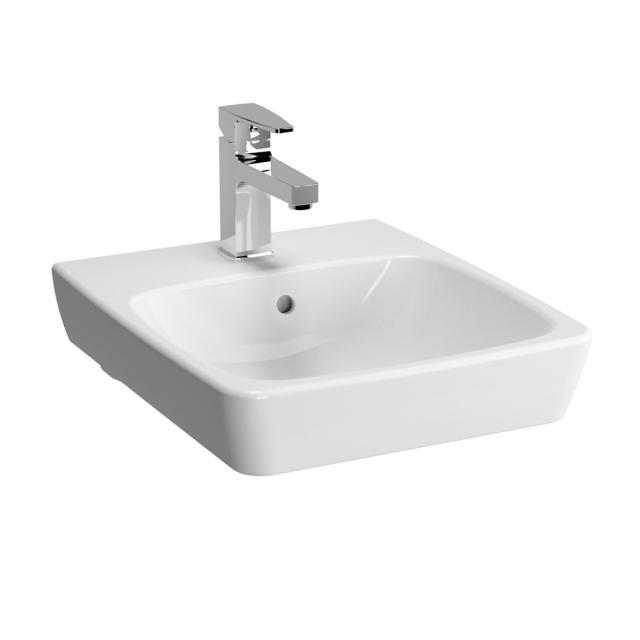 VitrA Metropole Handwaschbecken weiß ohne VitrAclean, ungeschliffen, mit Überlauf