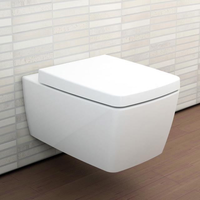 VitrA Metropole Wand-Tiefspül-WC VitrAFlush 2.0, mit WC-Sitz