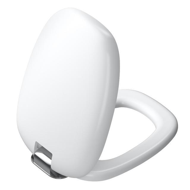 VitrA Plural WC-Sitz, abnehmbar mit Absenkautomatik weiß/chrom