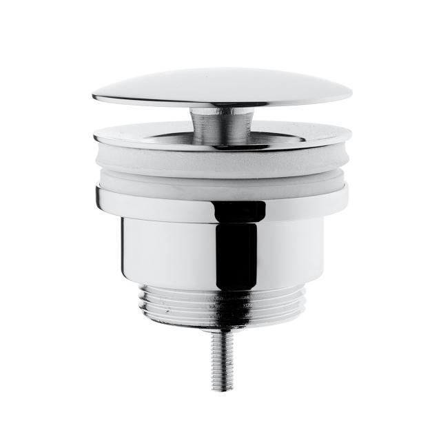 VitrA Push-Open-Ventil mit Staufunktion, mit keramischer Abdeckung edelweiß