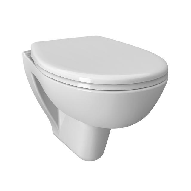 VitrA S20 Wand-Tiefspül-WC mit Bidetfunktion mit Spülrand, weiß