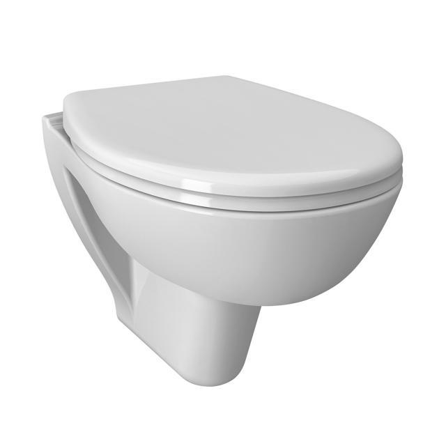 VitrA S20 Wand-Tiefspül-WC Compact ohne Spülrand, weiß, mit VitrAclean