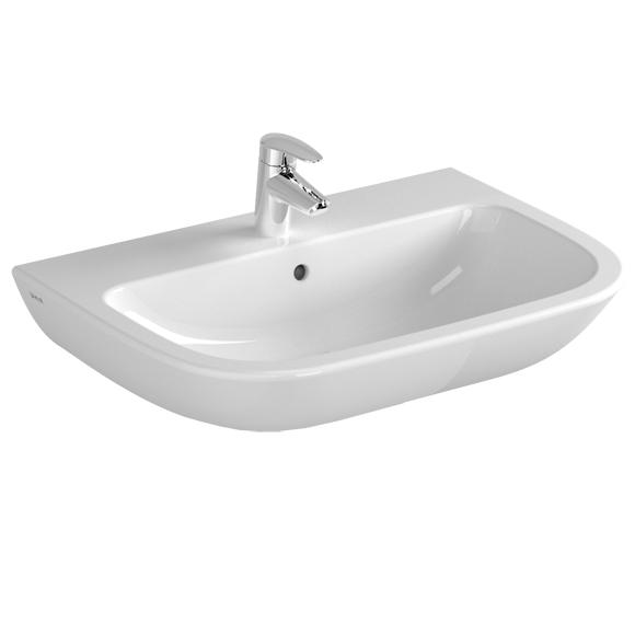 VitrA S20 Waschtisch weiß, mit Überlauf