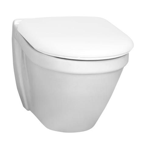 VitrA S50 Wand-Tiefspül-WC Compact weiß, mit VitrAclean