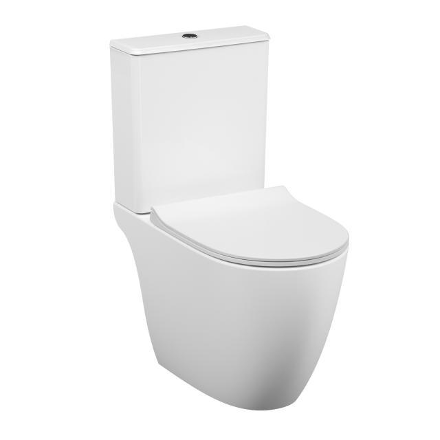 VitrA Sento Stand-Tiefspül-WC für Kombination, VitrAflush 2.0, open back weiß