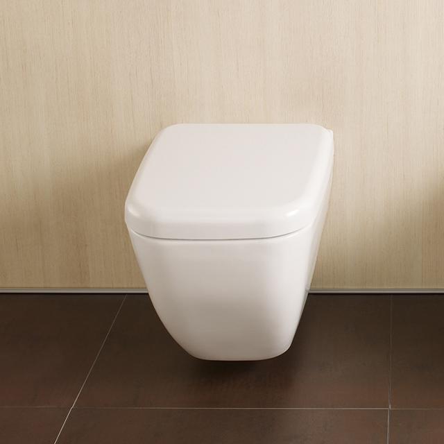VitrA Shift Wand-Tiefspül-WC mit Bidetfunktion weiß