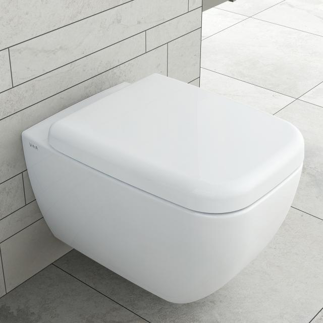 VitrA Shift Wand-Tiefspül-WC ohne Spülrand, weiß
