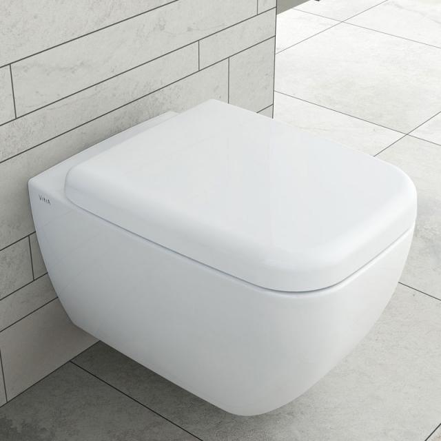 VitrA Shift Wand-Tiefspül-WC VitrAflush 2.0 mit Bidetfunktion weiß