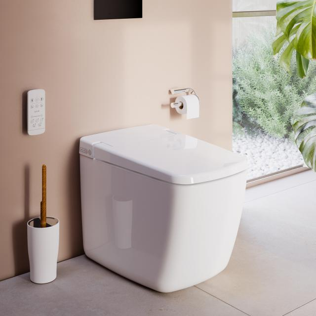 VitrA V-Care Prime Lite Stand-Dusch-WC, mit WC-Sitz