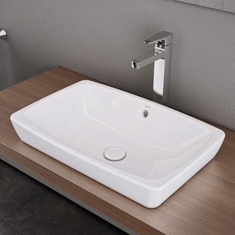 holz waschtisch mit aufsatzwaschbecken rund die neuesten. Black Bedroom Furniture Sets. Home Design Ideas