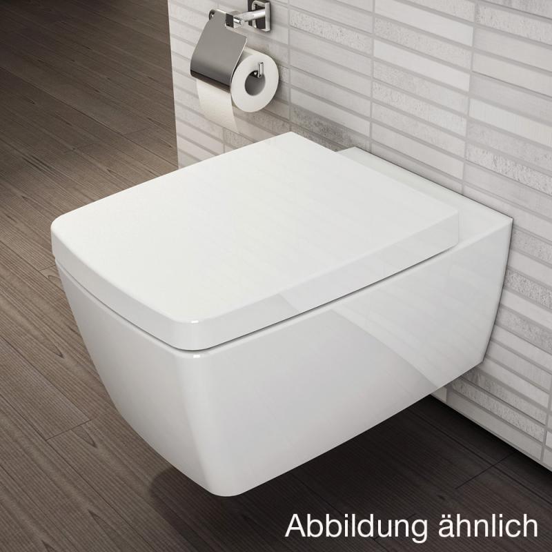 VitrA Metropole Wand-WC-Tiefspüler Compact L: 49 B: 36 cm weiß ohne ...