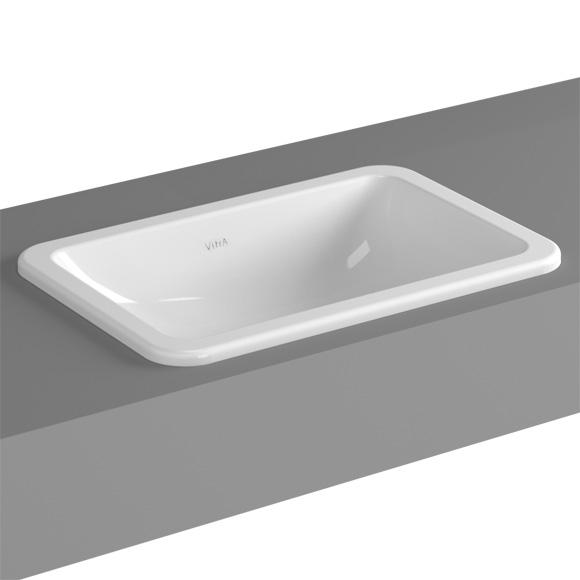 vitra s20 einbauwaschtisch ohne hahnloch 5475b003 0642 reuter. Black Bedroom Furniture Sets. Home Design Ideas