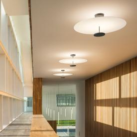 VIBIA Flat LED Deckenleuchte mit Dimmer