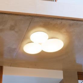 Vibia Puck LED Deckenleuchte, 3-flammig