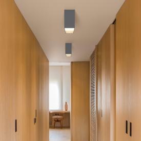 VIBIA Structural LED Deckenleuchte 1-flammig, rechteckig