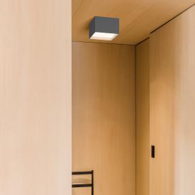 VIBIA Structural LED Deckenleuchte 1-flammig, quadratisch